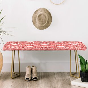 Aimee St Hill Decorative Upholstered Bench by East Urban Home
