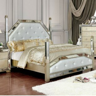 Shakira Glam Platform Bed