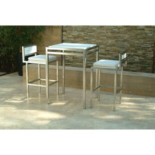 Talt 3 Piece Bar Height Dining Set