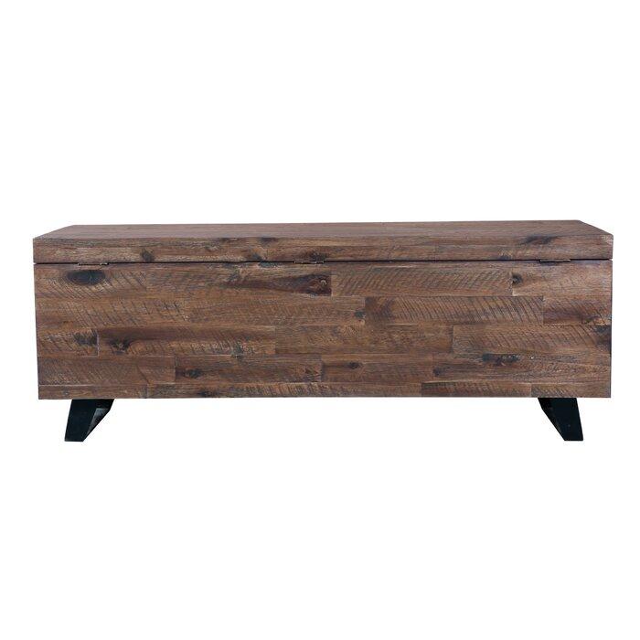Stupendous Southbridge Acacia Wood Storage Bench Dailytribune Chair Design For Home Dailytribuneorg
