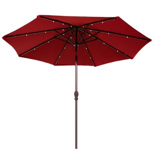 9' Lighted Umbrella by Abba Patio