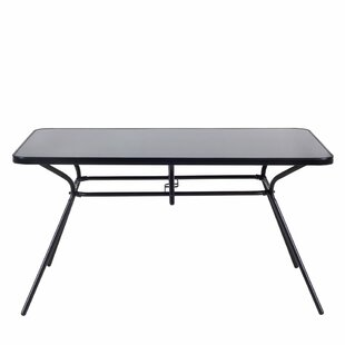 Goldfarb Stainless Steel Dining Table by Ebern Designs Great price