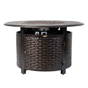 Baker Aluminum Propane Fire Pit Table