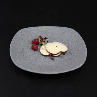 Elite Global Solutions Square Della Terra Stoneware Square 11 Melamine Dinner Plate Wayfair