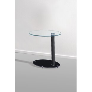 Read Reviews Grenier End Table by Ebern Designs