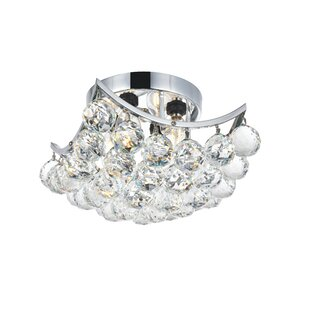 Best Price Kasha 4-Light Semi Flush Mount By Willa Arlo Interiors