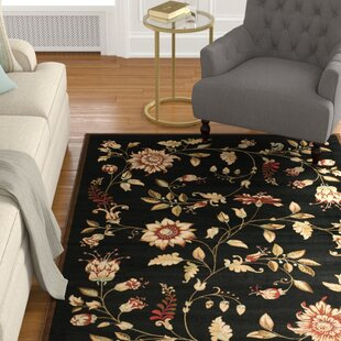 Find the perfect Taufner Power Loomed Black Area Rug ByAstoria Grand