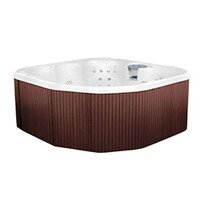 permanent hot tubs are also known to be more expensive making them a good backyard investment if you are looking to enjoy the same hot tub for a long - Wayfair Hot Tub