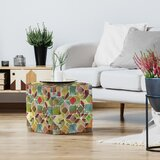 PI Creative Art Tessellation Ii Standard Ottoman by East Urban Home