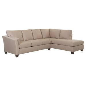 Scottie Right-Facing Sectional by Klaussner ..