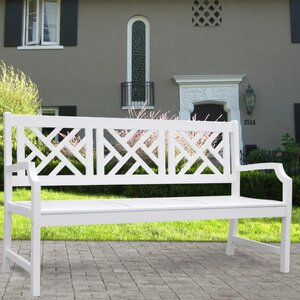 3-Sitzer Gartenbank Bradley aus Holz von Vifah
