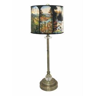 Newby Crystal 28 Buffet Lamp