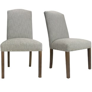 SOLE DESIGNS - SL3004 Key-Largo TEAL Spring Seating Double Dow Nail Trim Upholstered Dining Chairs with Espresso Legs (Set of 2)