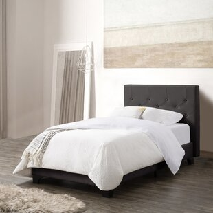 Salsbury Diamond Button-Tufted Upholstered Platform Bed
