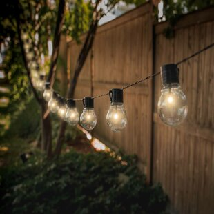 Aledo 20 ft. 10-Light Globe String Light (Set of 2)