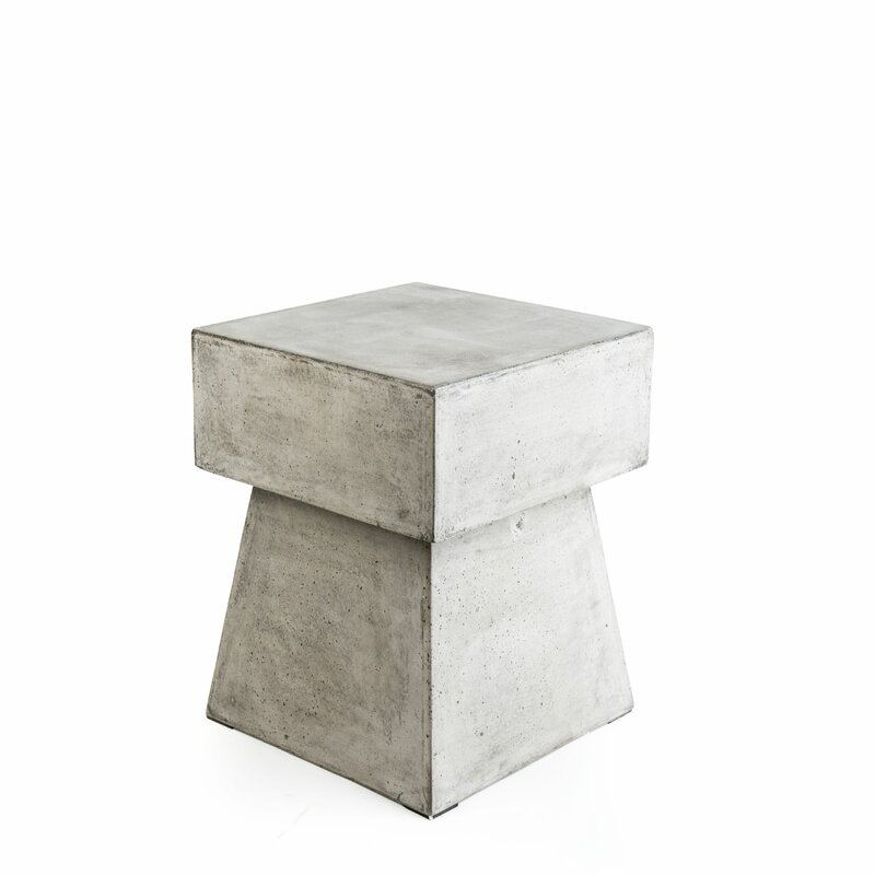 concrete side table. Mushroom Stone/Concrete Side Table Concrete I