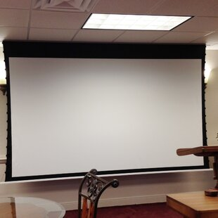 Evanesce White Electric Projection Screen Elite Screens
