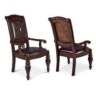 Hassler Upholstered Dining Chair (Set Of 2) by Astoria Grand #1