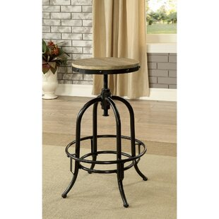 Julianna Metal Swivel Bar Stool 17 Stories