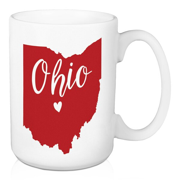 Ebern Designs Fretwell Ohio State Pride Columbus Love Coffee Mug Wayfair
