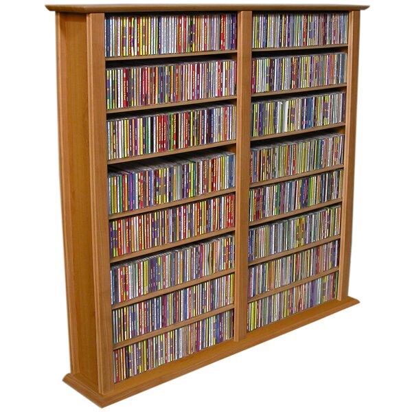 Rebrilliant Regular Double Multimedia Storage Rack U0026 Reviews | Wayfair