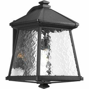 Compare Triplehorn 1-Light Wall Black Lantern By Alcott Hill