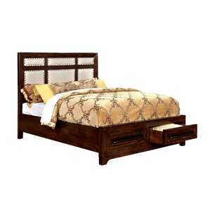 Vineland Upholstered Platform Bed by Loon Peak