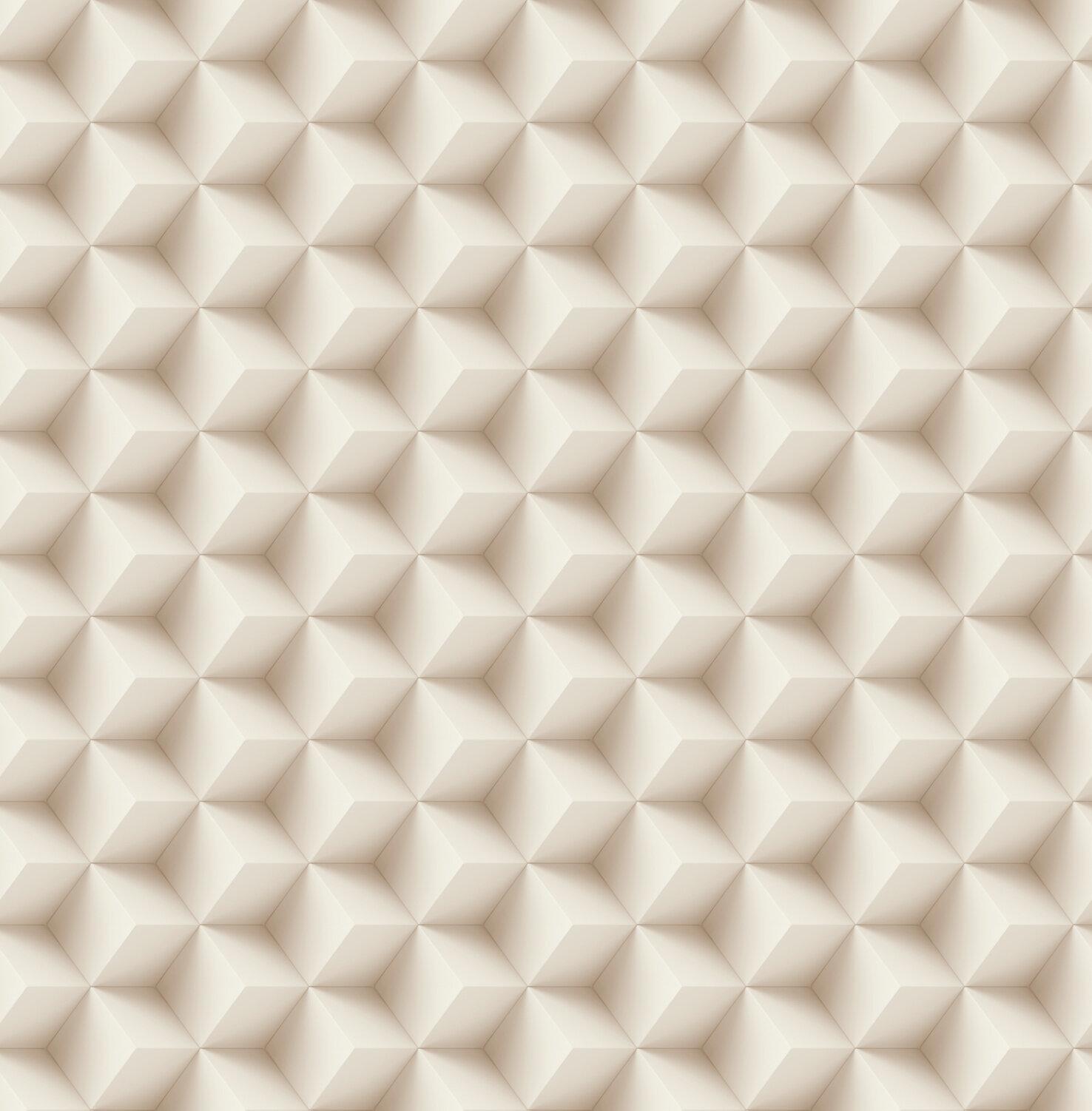 ivy bronx holstentor 3d cubes 33 l x 20 5 w metallic wallpaper roll wayfair holstentor 3d cubes 33 l x 20 5 w metallic wallpaper roll