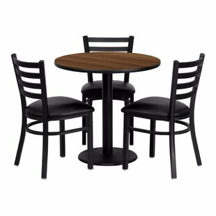 Pulaski 4 Piece Dining Set Red Barrel Studio