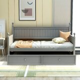 Twin Daybed with Trundle by Red Barrel Studio®