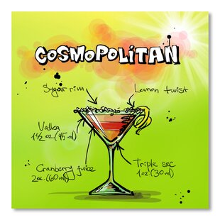 'Cosmospolitan Cocktail' by Wonderful Dream Textual Art By Americanflat