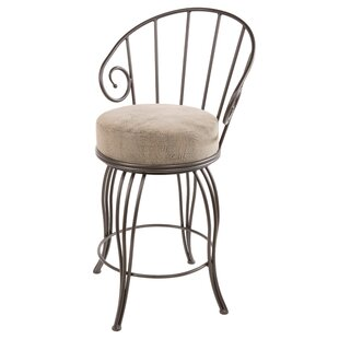 Chupp 25 Swivel Bar Stool Fleur De Lis Living