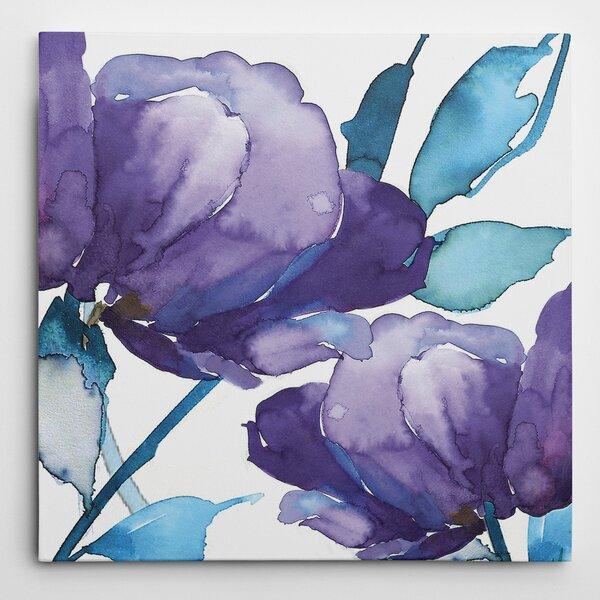 Winston Porter 'Royal Blooms I' by Harrison Ripley Framed ...