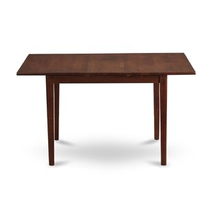 Lorelai Solid Wood Dining Table by Alcott Hill Great price