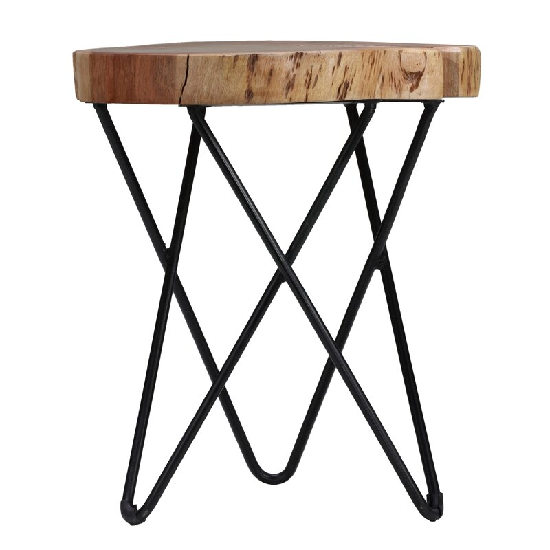 Union Rustic Bozarth End Table