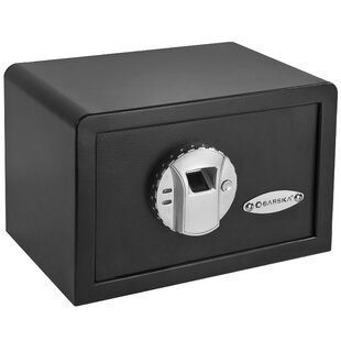 Mini BioMetric Key Lock Wall Safe by Barska
