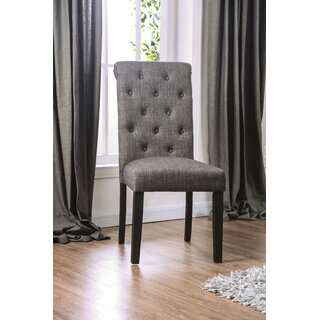 Analia Upholstered Dining Chair (Set of 2) by Charlton Home SKU:BC255950 Details