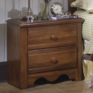 Crossroads 2 Drawer Nightstand by Carolina Furniture Works, Inc.