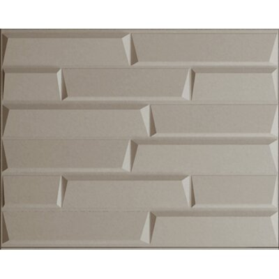 """31.4"""" x 24.6"""" Paintable Brick 3D Embossed Panel Wallpaper threeDwall"""