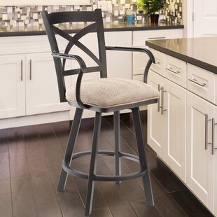 Dickamore 30 Swivel Bar Stool by Red Barrel Studio