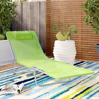 Cushioned Metal Outdoor Chaise Amp Lounge Chairs You Ll Love