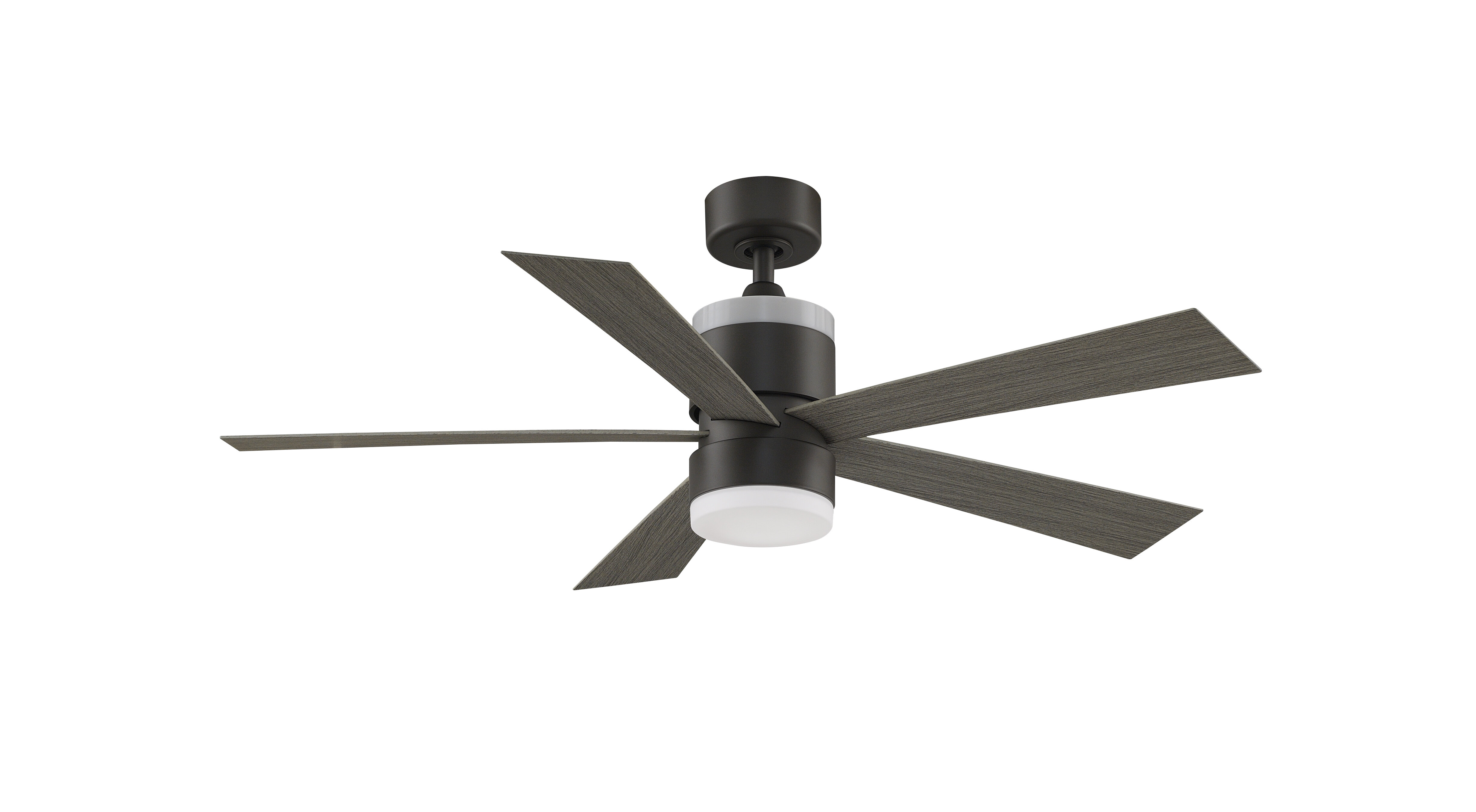 Fanimation 52 5 Blade Led Standard Ceiling Fan With Light Kit Included Wayfair