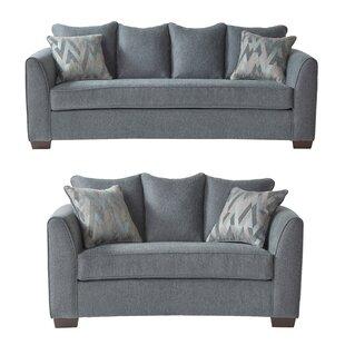 Pancoastburg 2 Piece Standard Living Room Set