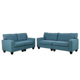 Tarrington 2 Piece Standard Living Room Set by Red Barrel Studio®