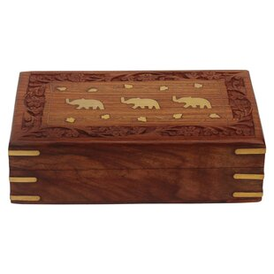 Best Reviews Decorative Wooden Jewelry Box ByWorld Menagerie