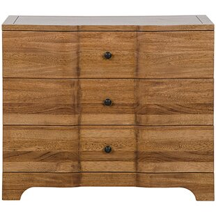 Claudie 3 Drawer Accent Chest by Noir