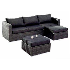 5-tlg. 3-Sitzer Ecksofa-Set Aruba von Best Freizeitmöbel