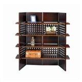 Kosmo Wooden Bookcase Standard Bookcase by Bloomsbury Market