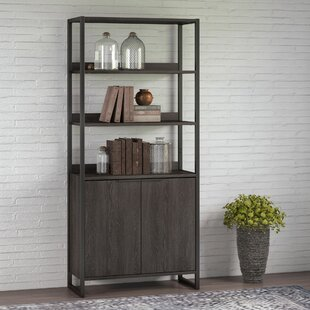 Quiroz 5 Shelf Standard Bookcase
