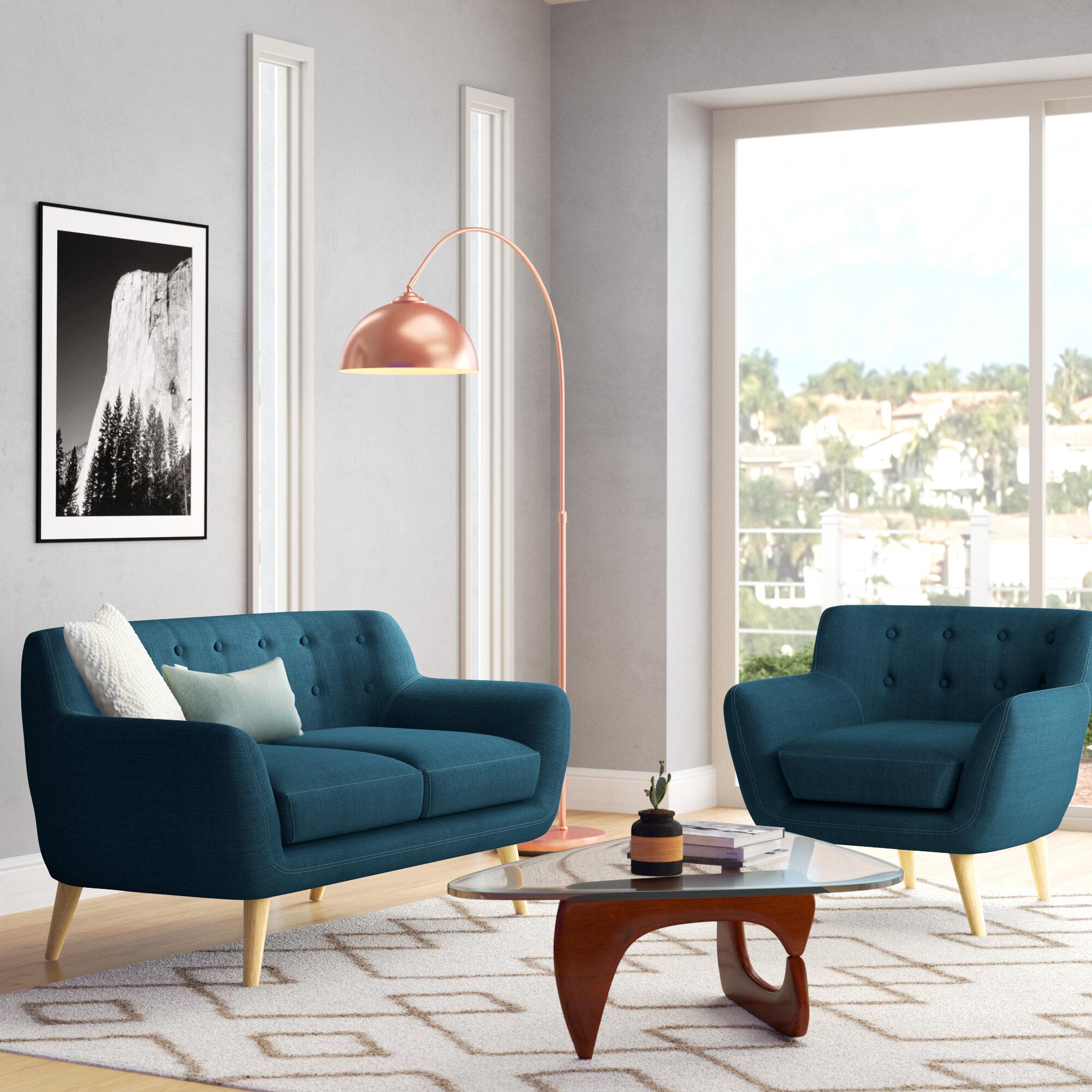 George Oliver Ellice Living Room Set Reviews Wayfair